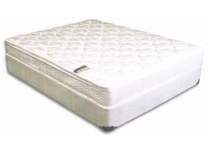 Image for KING BARCROFT PILLOW TOP MATTRESS AND BASE
