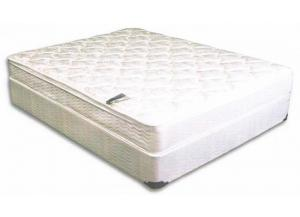Image for TWIN BARCROFT PILLOW TOP MATTRESS AND BASE