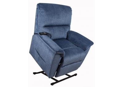 Image for Blue Lift Chair Recliner