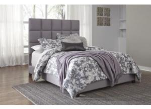 Image for Dolante Queen Upholstered Bed Gray