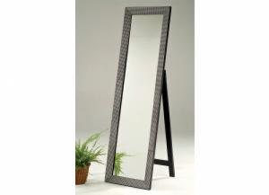 Image for Cheval Mirror Blitz Beaded Industrial Metallic