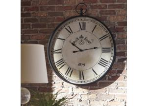 Image for Augustina Clock Antique Black