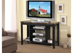 Image for TV Stand Faux Marble Top