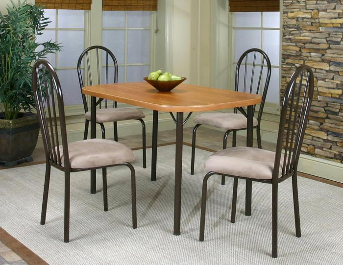 Heath Cherry Dinette Table & 4 Chairs,Cramco Dining