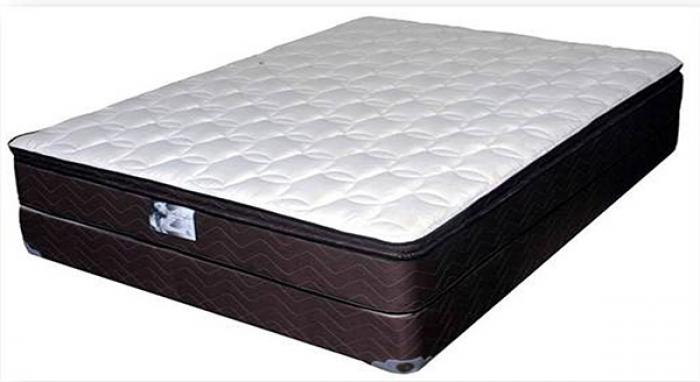 027 Ortho Comfort Supreme Twin Size Pillow Top Mattress Set,United Bedding Industries