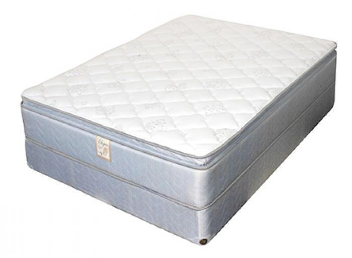 127 Whispers Super Twin Size Pillow Top Mattress,United Bedding Industries