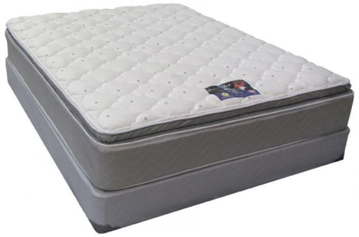 Blue Imperial Full Size Double Pillow Top Mattress,United Bedding Industries