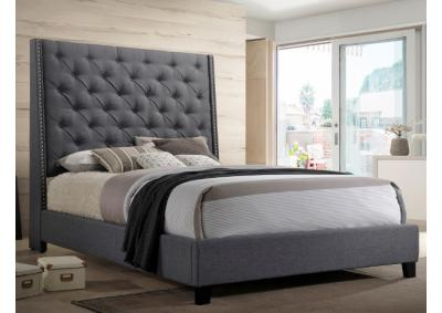 5265 Gray Queen Bed