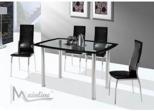 Image for 22200-22230 Saute Dining Table with 4 Chairs