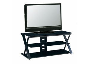 Image for 2767 Black Metal LCD TV Stand