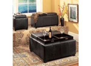 Image for 6005, Cubbies Storage Ottoman