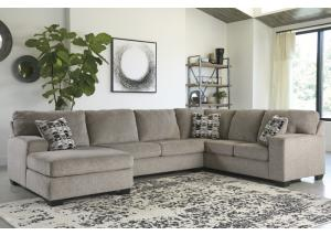 Image for Ballinasloe Platinum LAF Chaise Sectional
