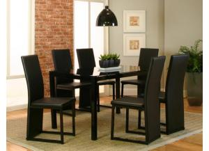 Como 7 Piece Dining Set