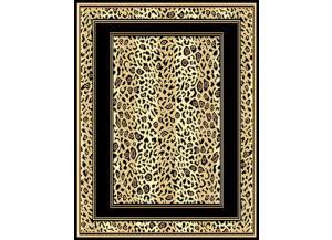 Image for Leopard Print Boarder Rug