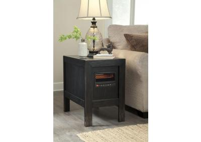Image for heater end table