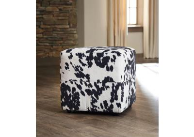 Image for Cowhide Cube Ottoman