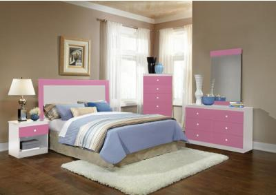 Image for Cotton Candy 5 Piece Bedroom