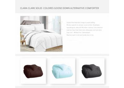 Image for King Goose Down White Comforters