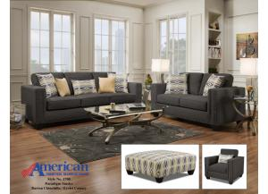 Image for Paradigm Smoke Barto Sofa & Loveseat
