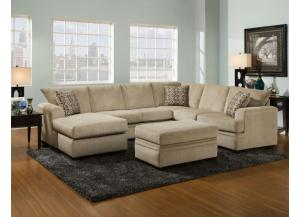 Image for Cornell Platinum Sectional