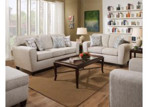 Image for Uptown Ecru Sofa & Loveseat