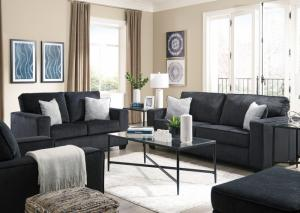 Image for Altari Slate Sofa & Loveseat, Chair, Ottoman & Table