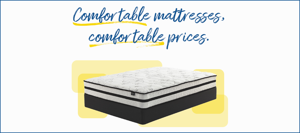 Comfortable mattresses, comfortable prices