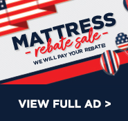 Mattress Rebate Sale - View Our Ad & Shop In-Store