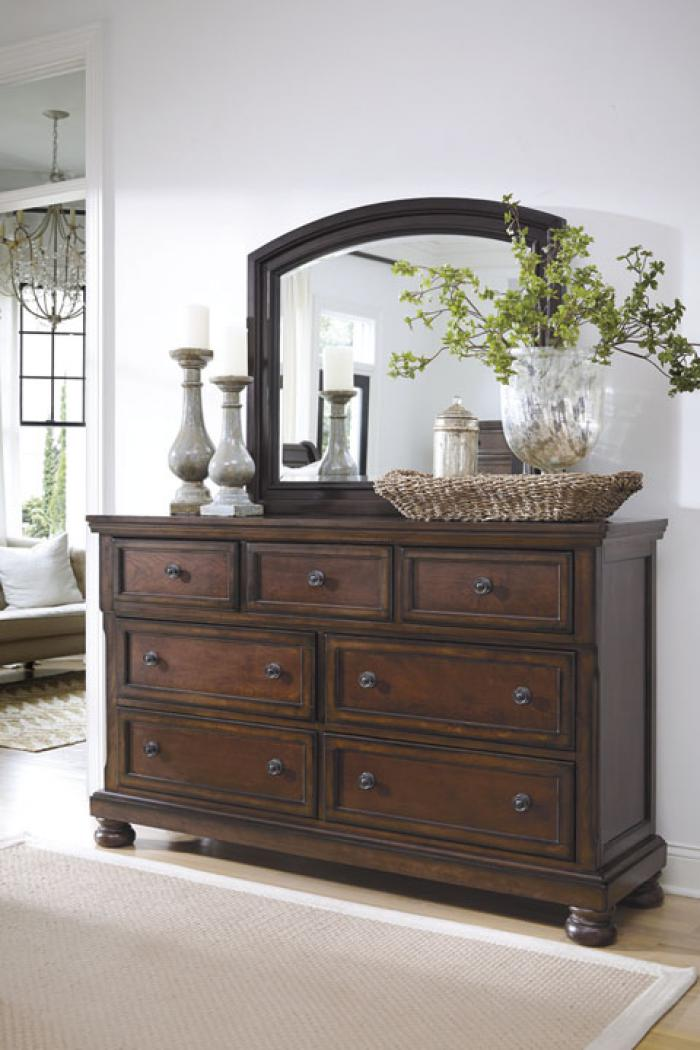 Porter Brown Dresser,In-Store Product