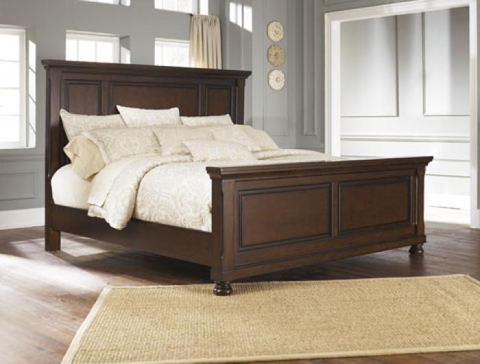 Porter Brown Queen Panel Bed,In-Store Product