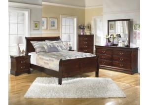 Image for Alisdair Queen Sleigh Bed w/Nightstand