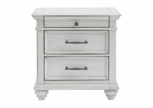 Image for Kanwyn Whitewash Nightstand