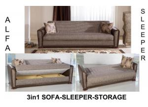 Image for Alfa Sofa Euro Sleeper