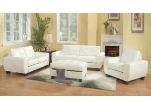 Image for White Sofa & Love Seat