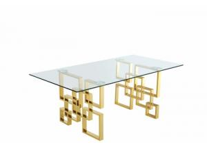 Image for Pierre Gold Dining Table