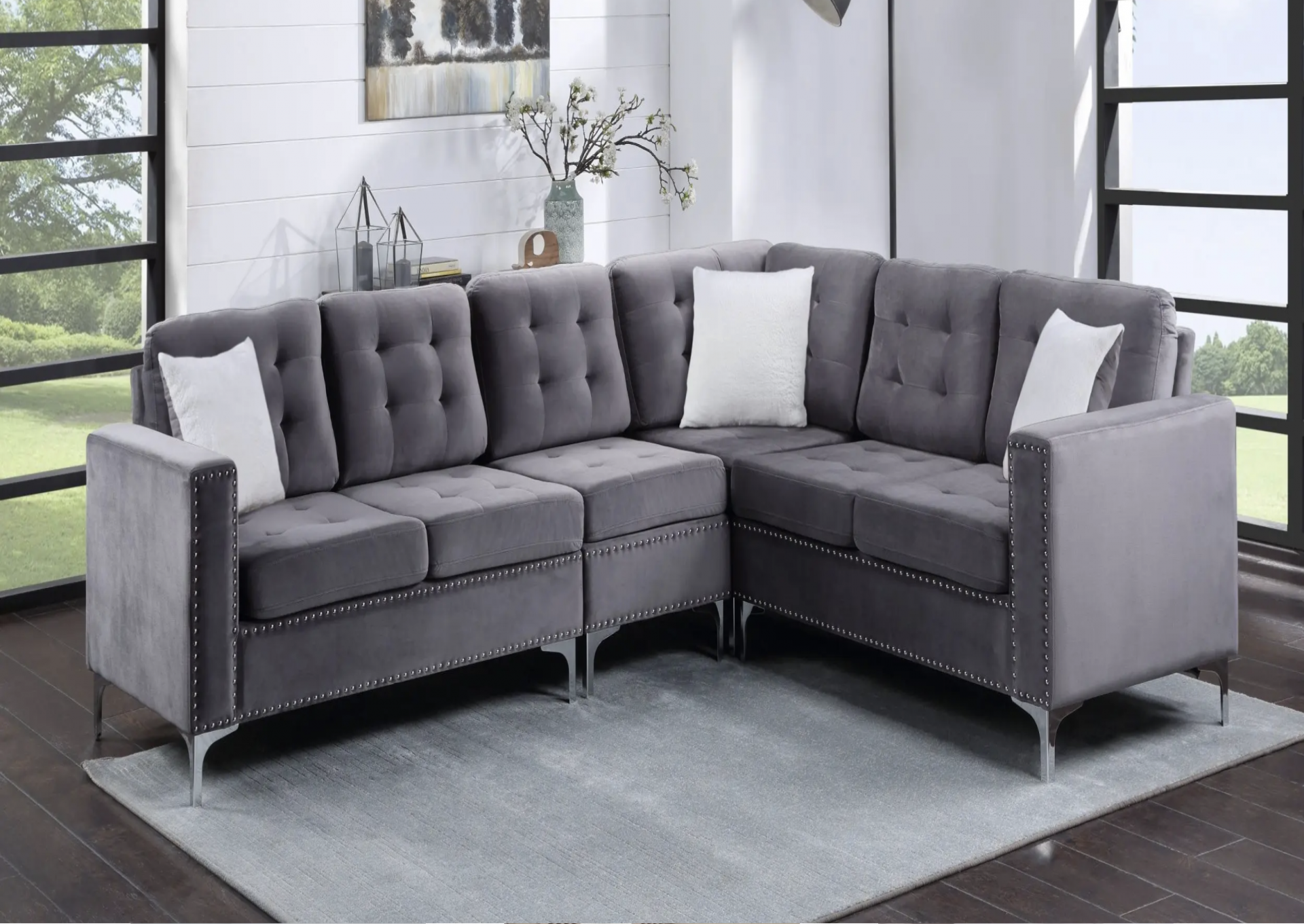 3 Piece Sectional Sofa,March Flyer