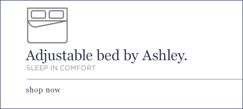Adjustable bed by Ashley