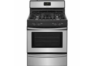 "Image for 30"" Gas Freestanding Range, Manual Clean, Broiler Drawer, 4.2 CUFT – StainleSS"