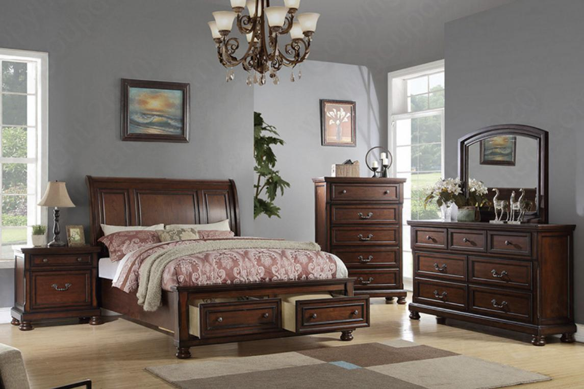 4pc King bedroom set ,InStore Products