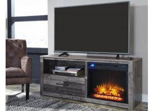 Image for  Derekson 59-inch TV stand with electric fireplace