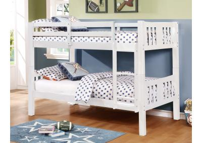 Image for ASHMORE T/T BUNKBED WHITE