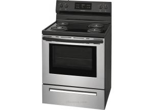 Image for Frigidaire 5.3-cu ft Self-Cleaning Freestanding Electric Range (Stainless Steel)