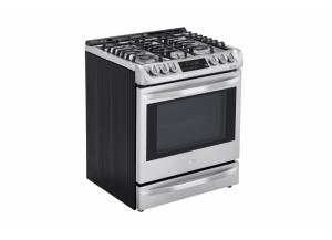 Image for LG Smartthinq Deep Recessed 5-Burner Self-Cleaning Convection (Stainless Steel)