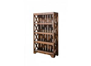 Image for Antique Natural Distressed looking bookcase