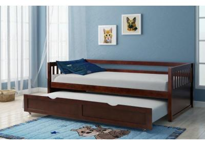Image for Lawton Cherry Twin Daybed with Trundle