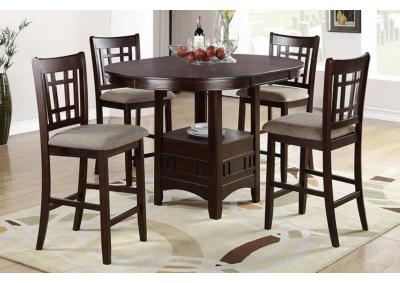 Image for 5PC COUNTER HT TABLE SET