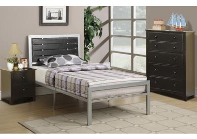 Image for TWIN BED SILVER MW