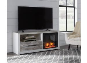 Image for  Evanni 59-inch TV stand with electric fireplace unit
