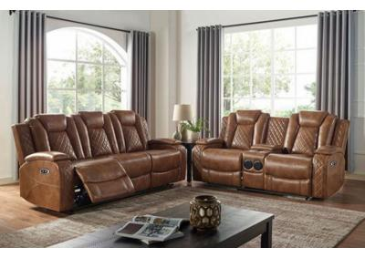 Image for Alexia power sofa and love seat set