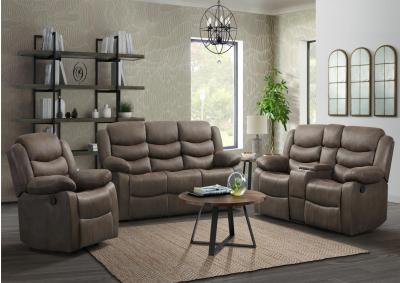Image for Wagoner Reclining Sofa + Loveseat - Expedition Java